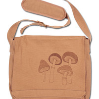 NEW! Magic Mushrooms Messenger Bag: Soul-Flower Online Store