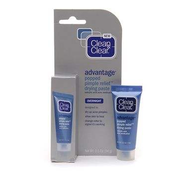 Clean & Clear Advantage Popped Pimple Relief Drying Paste   Walgreens