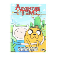 Adventure Time Jake And Finn Playing Cards