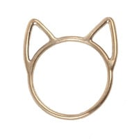 catbird love cat ring