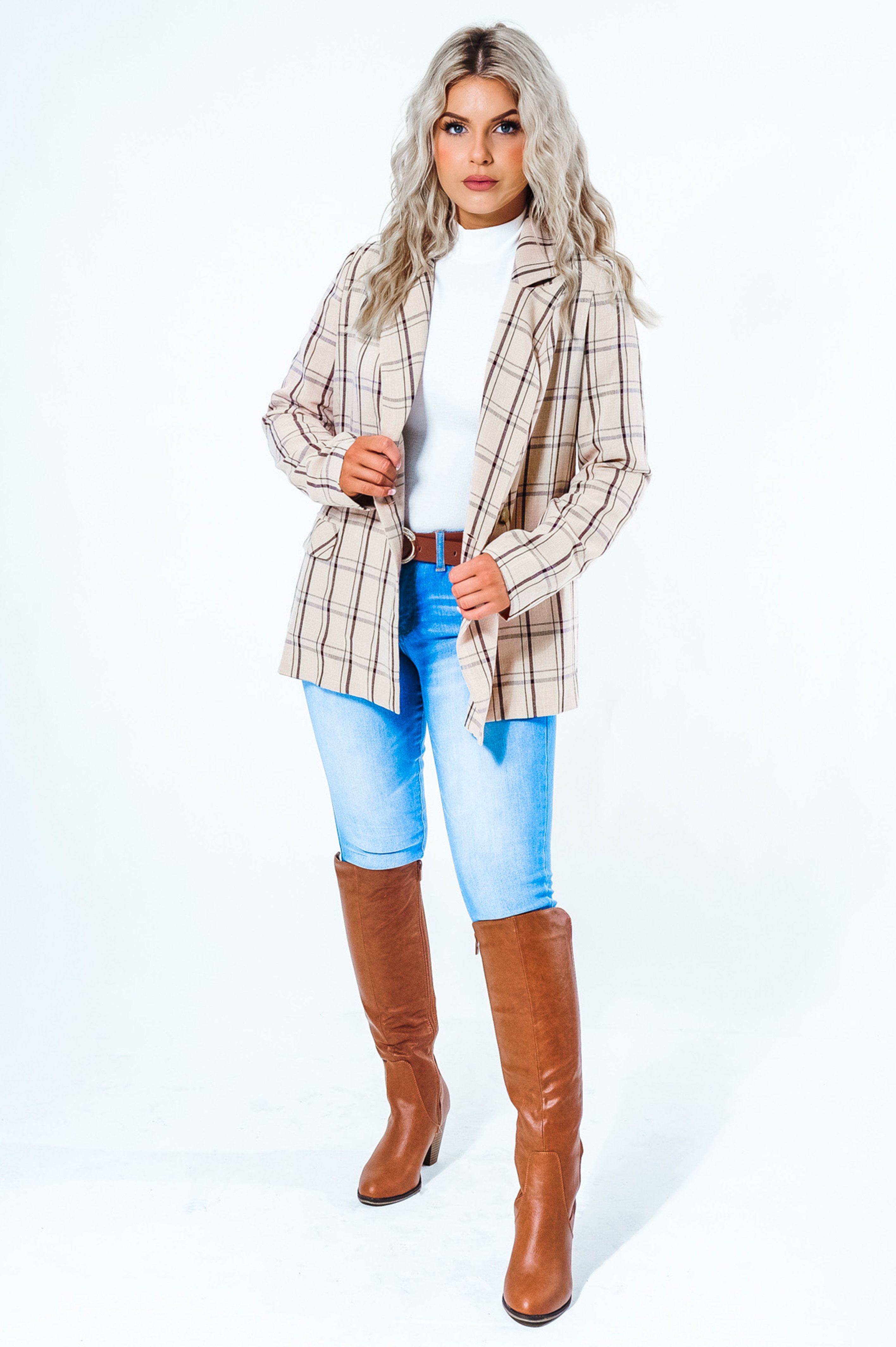 Image of She Means Business Blazer: Multi