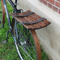Eliptical wooden bike basket by offcutstudio on Etsy