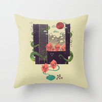 A World Within Throw Pillow by Hector Mansilla | Society6