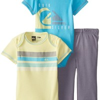 Quiksilver Baby Boys' Yellow Body and Blue with Pants