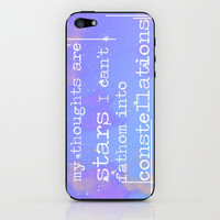 The Fault In Our Stars, John Green iPhone & iPod Skin by gabsnisen | Society6
