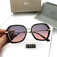 DIOR 2019 new women's personality wild color film polarized sunglasses #1