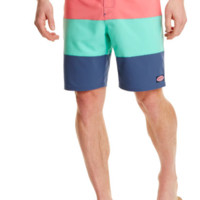 Vineyard Vines Pieced Stretch Board Short- Multi