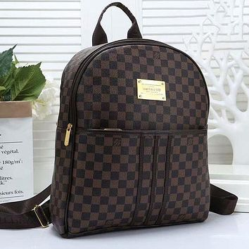 Louis Vuitton LV men's and women's large-capacity backpack