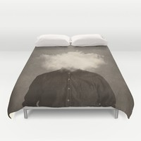 Head In the clouds Duvet Cover by Seamless