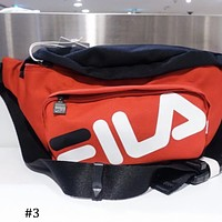 FILA counters for men and women fashion light and convenient sports Messenger bag F0658-1 #3