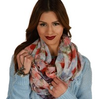 Sale-roses Are Red, Violets Are Blue Scarf