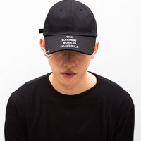 "So cool ring ""NO ONE ELSE LIKE ME"" baseball cap"
