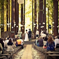 Wedding Ideas / i like this a lot :) a wedding in the woods