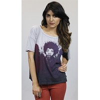 Chaser Jimi Hendrix Are You Experienced Tee Purple