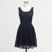 FACTORY SWIRLING LACE DRESS