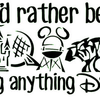 Disney Car Decal
