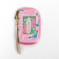 Carded ID Wristlet- Delta Gamma - Lilly Pulitzer