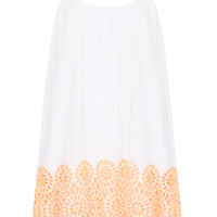 White Broderie Daisy Cover Up - Topshop USA