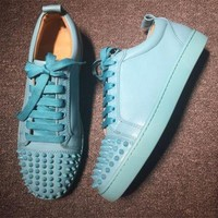 DCCK2 Cl Christian Louboutin Low Style #2077 Sneakers Fashion Shoes