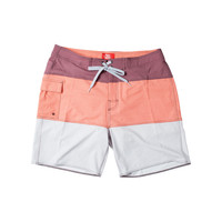 Toes on the Nose Uppers Boardshort Red