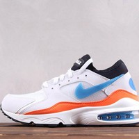 KUYOU N251 Nike Air Max 93 Ratro Casual Running Shoes White