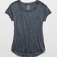 Aerie Real Soft® Tee, Navy