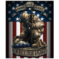 "New Throw Blanket 50"" x 60"" HONORING OUR HEROES REMEMBER THEIR SACRIFICE  Fleece"