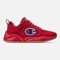 Champion new tide brand plus velvet men and women casual wild sports shoes Red