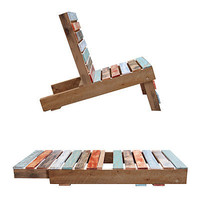 MAGNETIC PALLET CHAIR   Patio Furniture, Outdoor Seating, Adirondack Furniture, Deck Furniture   UncommonGoods