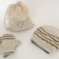 Gift Set: Toddler Hat &  Mittens