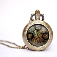 Dr Who Time Lord Seal pocket watch