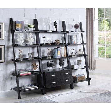 G800319 - Bower Ladder Bookcase - Cappuccino