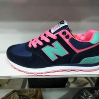 New Balance Fashion Casual All-match N Words Breathable Couple Sneakers Shoes-1
