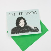 "Game of Thrones ""Let It Snow"" Holiday Card"