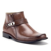 Men's 38901 Classic Ankle High Square Toe Casual Dress Boots
