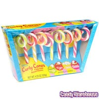 Curly Candy Canes: 8-Piece Box