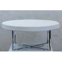 """Reflections Round Table - White 39""""D"""