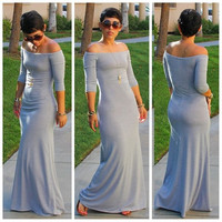 New Sexy Women Summer Long Maxi BOHO Evening Party Beach Dress = 5738883585