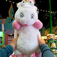 "Despicable Me Unicorn Plush ""IT'S SO FLUFFY!!!"" Agnes 26"" XLarge Very Soft NEW"