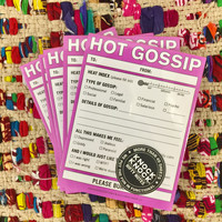 Hot Gossip Note Pad