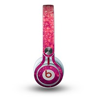 The Unfocused Pink Glimmer Skin for the Beats by Dre Mixr Headphones