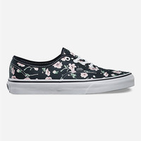 Vans Vintage Floral Authentic Girls Shoes Multi  In Sizes