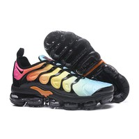 2018 Nike Air VaporMax Plus TN Tropical Sunset | AO4550-002 Sport Running Shoes - Best Online Sale