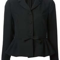 Red Valentino bow detail jacket