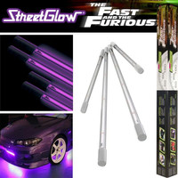 StreetGlow Fast and Furious Under Car Neon Light Kit - Pink