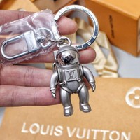 KUYOU Astronaut LV starry sky series SPACEMAN wrap with keychain by spring/summer 2019