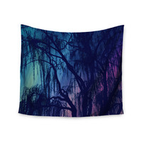 "Robin Dickinson ""Weeping"" Purple Tree Wall Tapestry"
