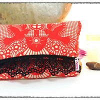 LIMITED RUN 'Clutch' Style <3 -Red Bird- <3 Pipe Bag
