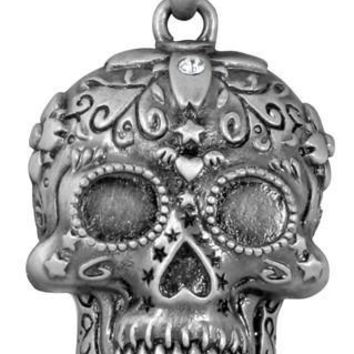 Day of the Dead Sugar Skull Unisex Pendant Necklace