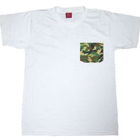 Camouflage Pocket Tee Shirt from Insparel